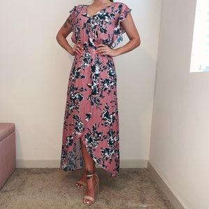 Splendid Floral Maxi Dress